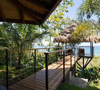 Casa de la Tierra y el Mar   Wood Bridge   Alvarez Arquitectos   Malpais, Costa Rica