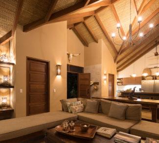 Casa Brisas del Cabo   Wood Ceiling   Livingroom   Alvarez Arquitectos   Malpais, Costa Rica