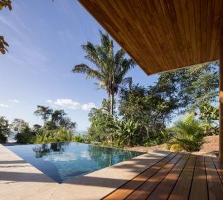 Casa de la Tierra y el Mar | Deck and view 2 | Alvarez Arquitectos | Malpais, Costa Rica