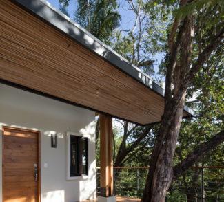 Casa de la Tierra y el Mar | Deck and Tree | Alvarez Arquitectos | Malpais, Costa Rica