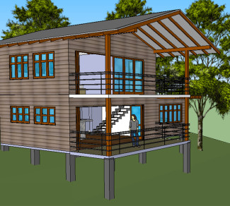 Architectural group 2 | Casas de Montaña | Montezuma | Private-Residences | Arquitectos | Costa-Rica